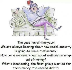 Social Security vs Welfare
