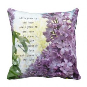 Love Poem Throw Pillows