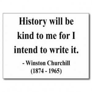 Winston Churchill Quotes Postcards