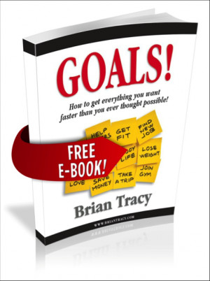 brian tracy quotes on goals quotesgram