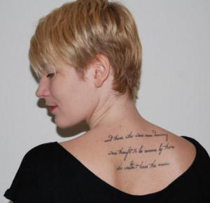 Nietzsche tattoo on tattooset.com