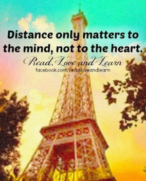 Distance quotes, best, deep, sayings, mind