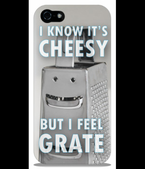 Home | Cheesy Grater iPhone 5 & 5S