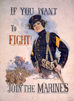 Free Photo: Female Marine