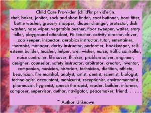 Daycare Provider Quotes