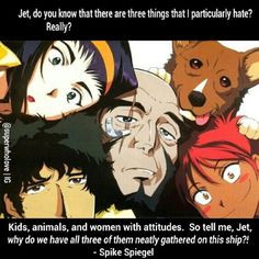 cowboy bebop quote spike spiegel and the gang more bebop quotes 57 11
