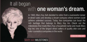 Mary Kay Quotes Goals Each of these mary kay