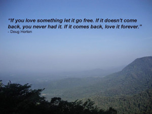 If You Love Something!