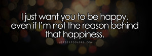 ... with someone else you don t understand but you re happy for him