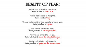 Funnies pictures about Being Scared