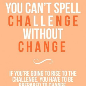 So what will be your next challenge?