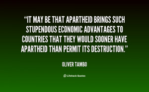 Apartheid Quotes