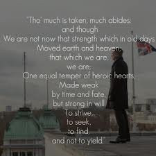Skyfall - M quotes Alfred, Lord Tennyson's