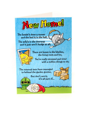 Pickles Congratulations New Home Card