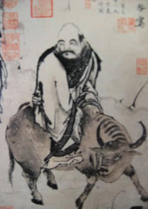 Laozi par Chen Hong Shou(1598 - 1652)