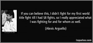 Fight For What You Believe Quote