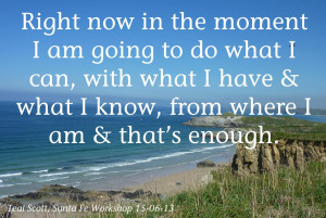 It Is Enough Quote
