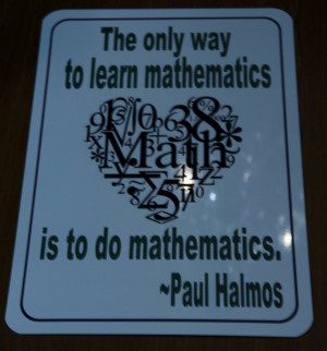for great Math quotes and