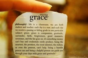 Philosophy: Amazing Grace Motivation Quote