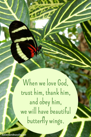 How to Glorify God :: When we love God, trust him, thank him, and obey ...