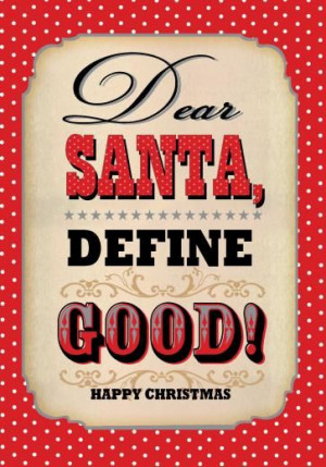 Dear Santa Christmas Card - £2.60 - A great range of Funny Christmas ...