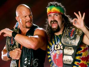 scsa WWF mick foley stone cold steve austin wrestlingchampions dude ...