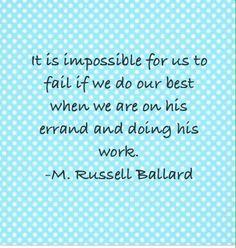 ... missionaries work sisters anderson missionaries russell ballard art