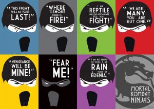 Mortal Kombat Ninjas by kentutkuda
