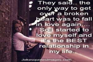 They Said, The Only Way To Get Over a Broken Heart Was To Fall In Love ...