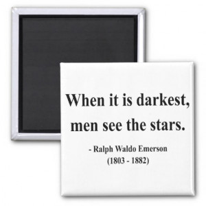 Emerson Quote 12a Refrigerator Magnets