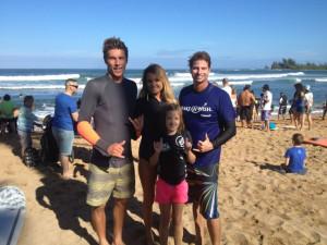 Alana Blanchard and boyfriend, Jack Freestone, enjoy some surf & sand ...