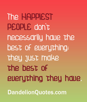 Tuesday Quotes - Find A Little Happiness