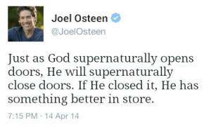 Joel Osteen ~