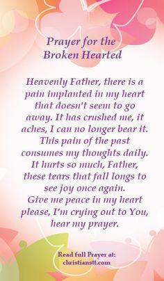 Prayer ~ Healing for the Broken Hearted christianstt.com/...
