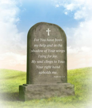Epitaphs Bible Quotes