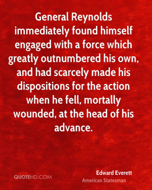 Edward Everett Quotes