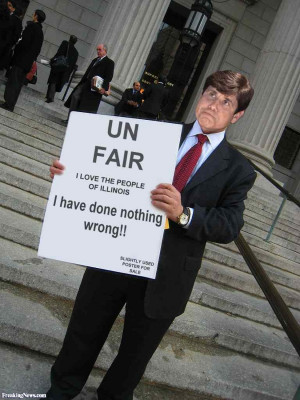 Rod Blagojevich Protest pictures