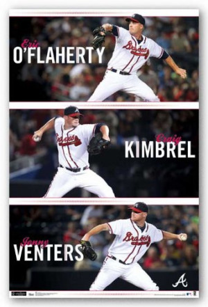 ... Flaherty Craig Kimbrel Jonny Venters Sports Poster Print at Amazon.com