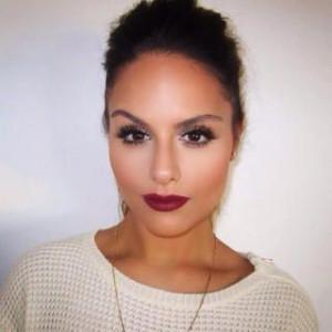 Pia Toscano. Lips. Eyes