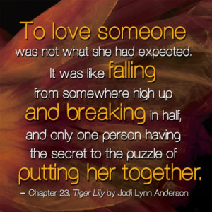 Tiger Lily Quote #4