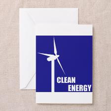 Wind Energy Greeting Cards