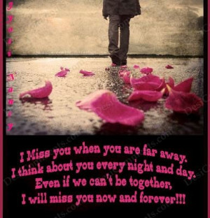 Will Miss You Now and Forever!!! ~ Goodbye Quote