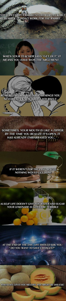 Funny philosophy quotes that make you think