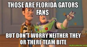 Funny Florida Gator Fan Memes