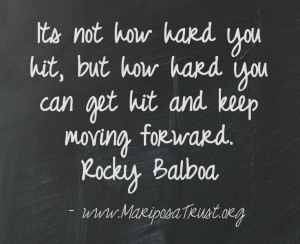 Rocky #Quote #Determination