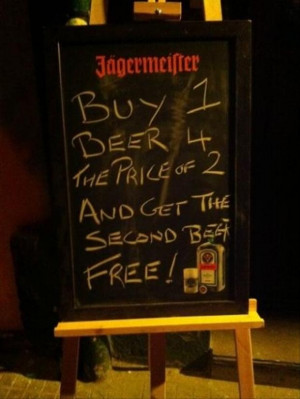 Laugh, Hilarious Chalkboards, Funny Signs, Funny Pub Signs, Funny Bar ...