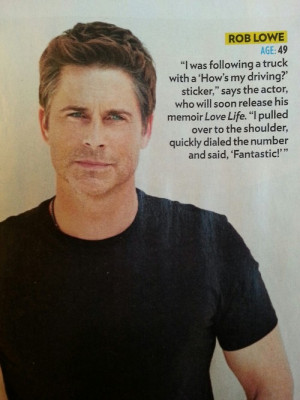 parks and recreation people magazine rob lowe chris traeger