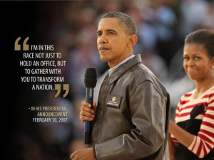 President Obama's notable Quotes.