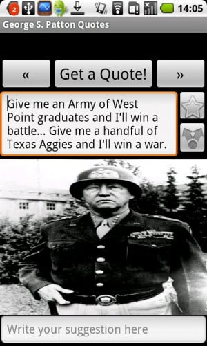 George S. Patton Quotes 1.0 screenshot 2