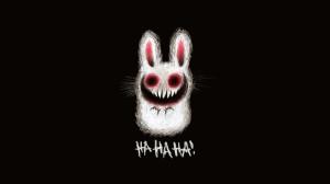bunnies horror creepy scary evil black humor 1920x1080 wallpaper